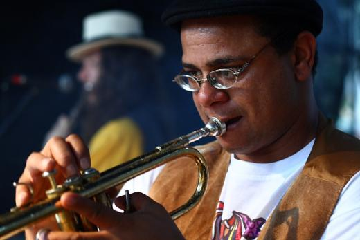 Gilson no Trompete em Laranjal Paulista